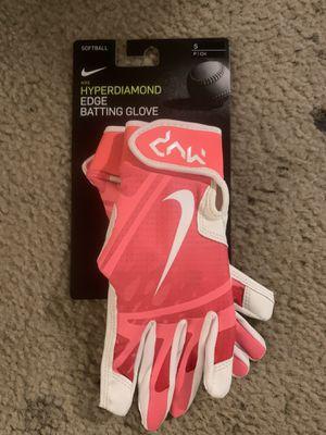 Nike softball hyper diamond edge batting glove size Small for Sale in Tacoma, WA
