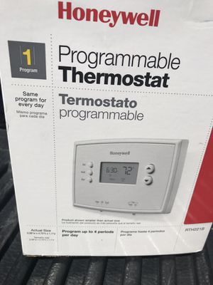 Programmable thermostat for Sale in Stockton, CA