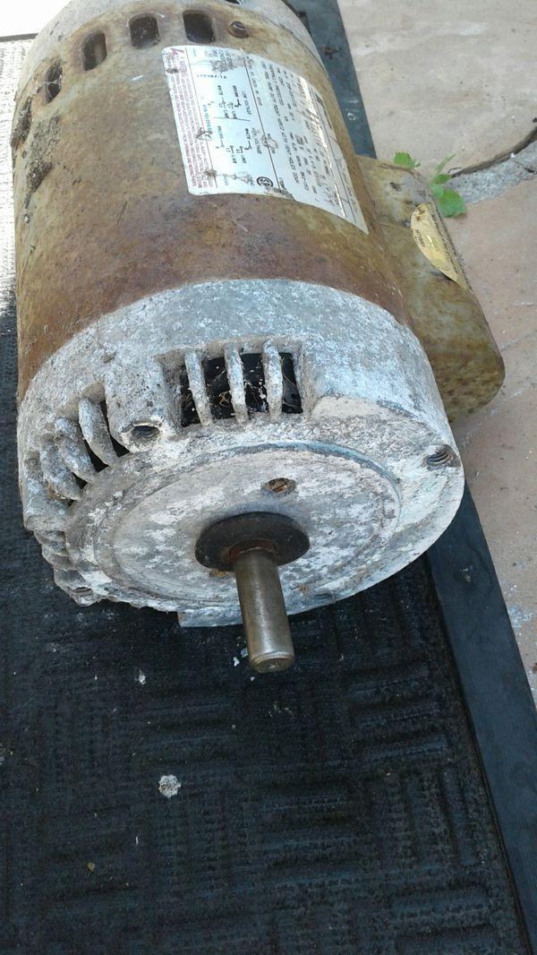 Pool Pump Motor Magnetek