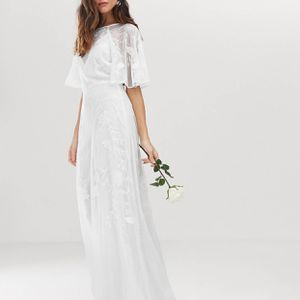 Mia Embroidered Wedding Dress for Sale in Alexandria, VA
