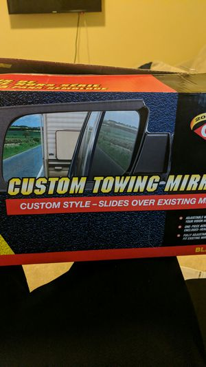Cipa mirrors brand - custom towing mirrors for Sale in Denver, CO