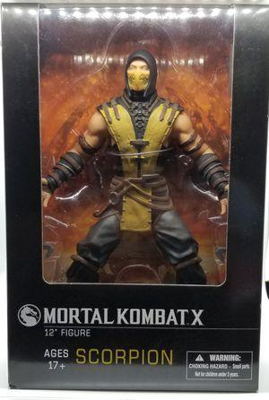 "Mortal Kombat X 12"" Scorpion Action Figure Rare for Sale in Pasadena, TX"