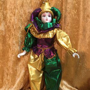 Vintage Mardi Gras Doll Decoration for Sale in Fort Lauderdale, FL