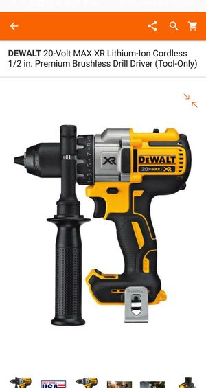 Hammer drill 20V 3 speed XR.((( No CARGADOR..... NO BATERÍA ... TOOL ONLY)))) for Sale in Bailey's Crossroads, VA
