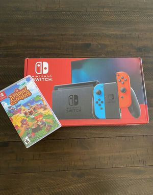 Nintendo switch & animal crossing for Sale in Beverly Hills, CA