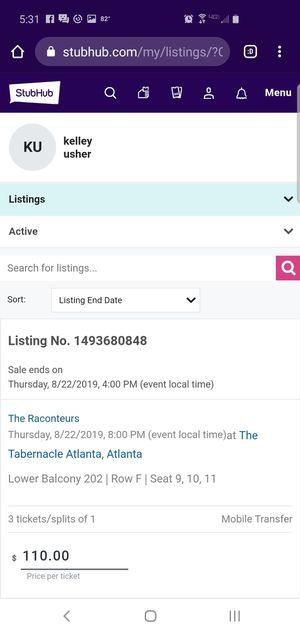 Raconteurs atlanta ga for Sale in Atlanta, GA
