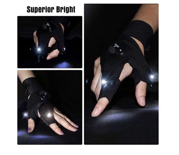 LED Flashlights Gloves