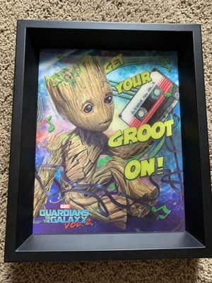 Baby Groot Wall Art (Lenticular Print) for Sale in Brighton, CO