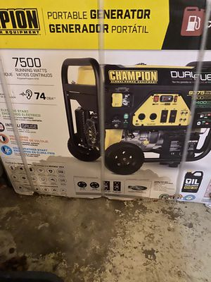 Champions Generator7500 for Sale in Suffolk, VA