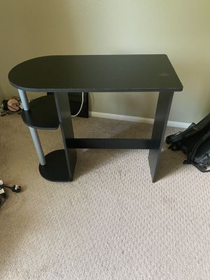 Small Black Desk for Sale in Wheat Ridge, CO