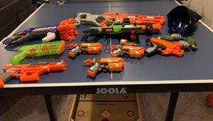Nerf guns, over 125 bullets and grenades for Sale in Old Bethpage, NY