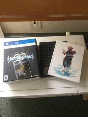 Kingdom hearts 3 deluxe collectors box for Sale in Sacramento, CA