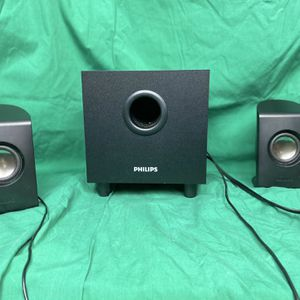 Phillips Computer Speakers And Subwoofer System for Sale in Minneapolis, MN
