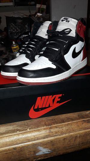 Air Jordan 1 Black Toe for Sale in Hutchins, TX