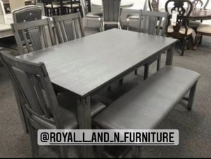 6 pc dining table set for Sale in Cypress, CA