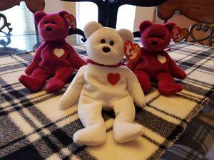 Valentine Beanie Babies...$10.00 EACH for Sale in El Paso, TX