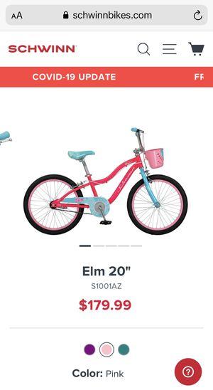 "NEW IN BOX 20"" girls bike for Sale in Decatur, GA"