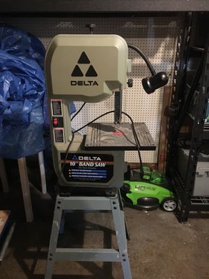 """Delta 10"""" band saw. for Sale in Portland, OR"""