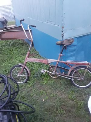 Vintage folding bike for Sale in Dallas, TX