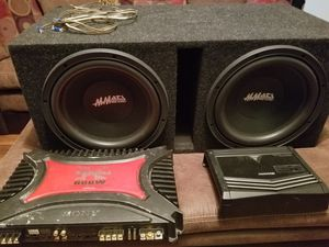 Mmats 12'S / 2 AMPS for Sale in Cary, NC