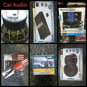 Soundstream Car Audio for Sale in Montebello, CA