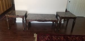 Coffee Table and 2 End Tables for Sale in Modesto, CA
