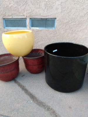 Plants pots for sell for Sale in Los Angeles, CA