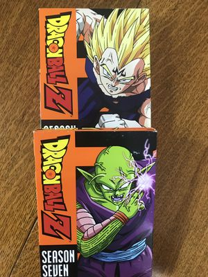 Dragon Ball Z seasons all for 20, Disney Marvel DC Harry Potter the Star Wars movies Bluray and dvd collectors for Sale in Everett, WA