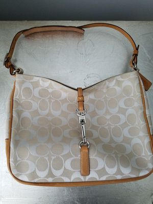 COACH Canvas Shoulder Bag for Sale in Savage, MD