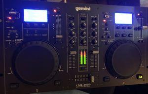 Gemini CDM Series CDM-4000 Professional Audio for Sale in Las Vegas, NV