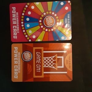 Dave And Busters Game Cards 100 On Each for Sale in Fort Myers, FL