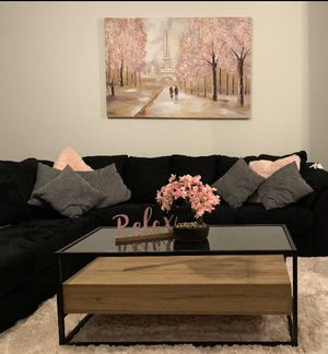 Black Sectional couch for Sale in Dallas, TX