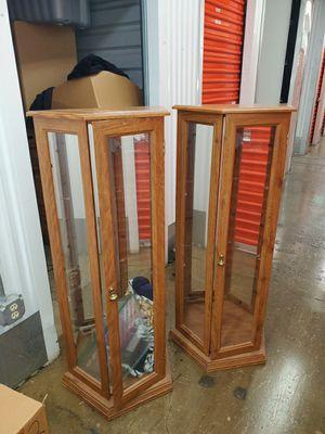 2 display curio for Sale in Landover, MD