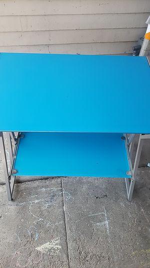 Glass top desk. for Sale in San Jose, CA