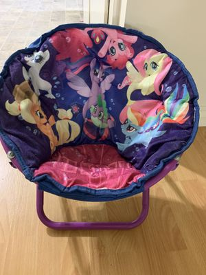 My Little Pony Movie Kids Saucer Chair for Sale in Long Beach, CA