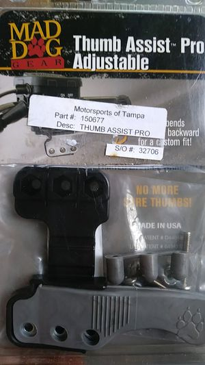 Thumb assist pro adjustable for quads for Sale in Tampa, FL