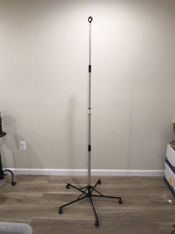 Collapsible Home IV Pole