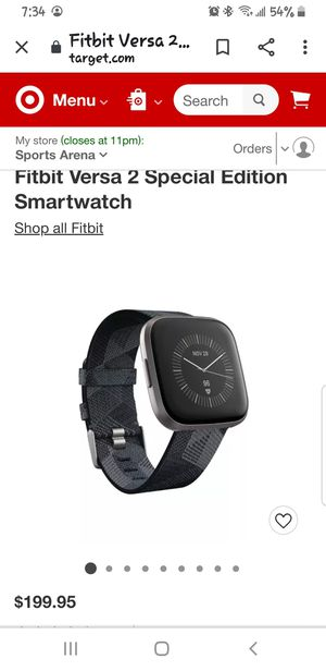 Fitbit versa 2 for Sale in San Diego, CA
