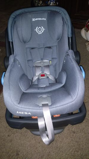 UPPAbaby Mesa Car Seat and Base Blue Marl for Sale in Phoenix, AZ