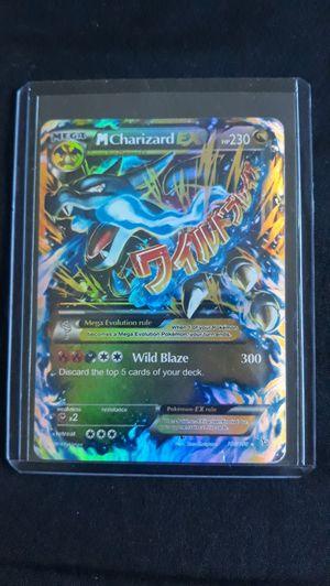 Pokemon Ultra Rare Mega Charizard EX Holographic Card for Sale in Federal Way, WA