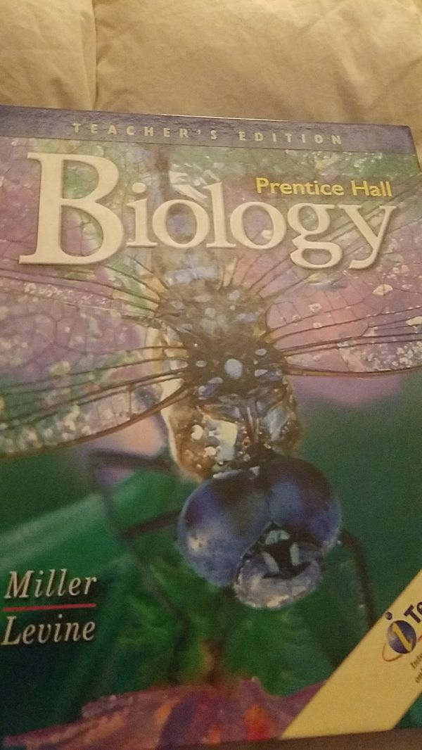 Biology Textbook w/ teacher's edition