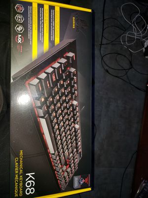 Mechanical gaming keyboard cherry red keys for Sale in Wichita, KS