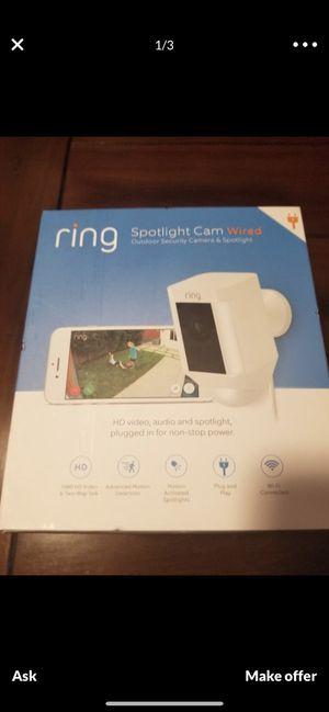 Ring spotlight camera *Wired* for Sale in Miami, FL
