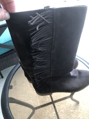 Lucky brand leather boots for Sale in Tampa, FL