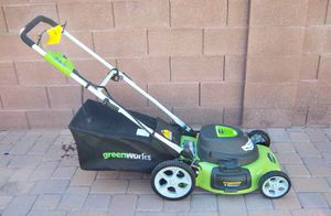 Like New Electric Corded Lawn Mower for Sale in Surprise, AZ