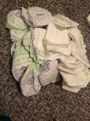 Newborn diapers for Sale in Dallas, TX