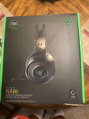 Nari razer wireless headphones for pc for Sale in Fresno, CA