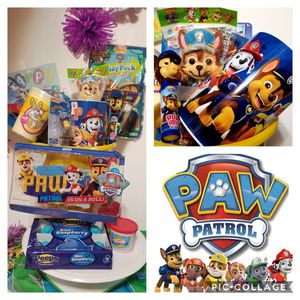 Team Paw Patrol Easter Basket for Sale in Laredo, TX