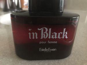 Perfume in Black by Estelle Ewen for Sale in Manassas, VA