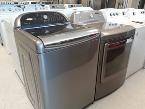 Whirlpool tap load washer and Kenmore electric dryer in good condition with 90 day's warranty for Sale in Mount Rainier, MD